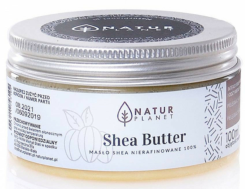 Finomítatlan sheavaj - Natur Planet Shea Butter Unrefined