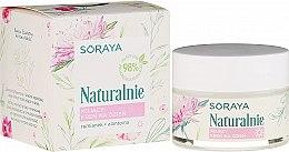 Parfüm, Parfüméria, kozmetikum Nyugtató arckrém - Soraya Naturalnie Day Cream