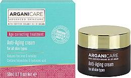 Parfüm, Parfüméria, kozmetikum Ránctalanító krém - Arganicare Shea Butter Anti Aging Cream