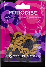 Parfüm, Parfüméria, kozmetikum Cserefájl-gyűrű pedikűr lemezhez, S, 180 szemcsés - Staleks