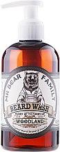 Parfüm, Parfüméria, kozmetikum Sampon szakállra - Mr. Bear Family Beard Wash Woodland
