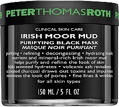 Parfüm, Parfüméria, kozmetikum Tisztító arcmaszk - Peter Thomas Roth Irish Moor Mud Purifying Black Mask
