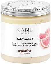 """Parfüm, Parfüméria, kozmetikum Lábpeeling """"Grapefruit"""" - Kanu Nature Grapefruit With Cranberry Body Scrub"""