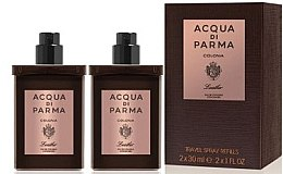 Parfüm, Parfüméria, kozmetikum Acqua di Parma Colonia Leather Eau de Cologne Travel Spray Refill - Kölni