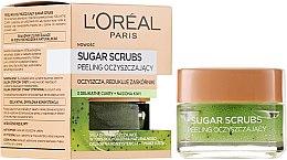 Parfüm, Parfüméria, kozmetikum Tisztító cukorpeeling arcra - L'Oreal Paris Sugar Scrubs