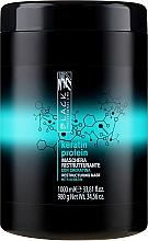 """Parfüm, Parfüméria, kozmetikum Újjáépítő maszk sérült hajra """"Keratin fehérje"""" - Black Professional Line Keratin Protein Mask"""