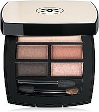 Parfüm, Parfüméria, kozmetikum Szemhéjfesték paletta - Chanel Les Beiges Healthy Glow Natural Eyeshadow Palette