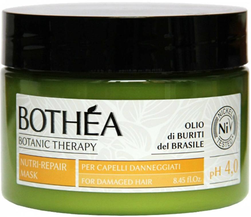 Maszk sérült hajra - Bothea Botanic Therapy Nutri-Repair Mask pH 4.0 — fotó N1