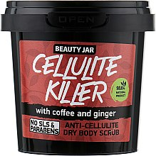 "Parfüm, Parfüméria, kozmetikum Bőrradír ""Cellulite Killer"" - Beauty Jar Anti-Cellulite Dry Body Scrub"