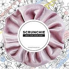 "Parfüm, Parfüméria, kozmetikum Hajgumi ""Velour Classic"", bársony, rózsaszín - MakeUp Hair Accessories"