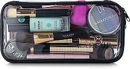 """Parfüm, Parfüméria, kozmetikum Neszeszer, átlátszó """"Visible Bag"""" (kozmetikumok nélkül) 25x12x8cm - MakeUp"""