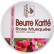 """Parfüm, Parfüméria, kozmetikum """"Csipkebogyó és shea"""" arc- és testápoló olaj - Naturado Musk Rose & Shea Butter"""