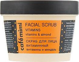 """Parfüm, Parfüméria, kozmetikum Arcradír """"Vitaminos"""" - Cafe Mimi Facial Scrub Vitamins"""