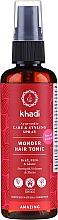 Parfüm, Parfüméria, kozmetikum Hajtonik értékes ájurvéda gyógyfűvekkel - Khadi Wonder Hair Tonic
