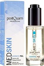 Parfüm, Parfüméria, kozmetikum Enzimes szérum-pileeng papaja kivonattal - PostQuam Med Skin Enzimatic Peel Serum With Papaya Extract