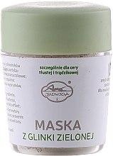 Parfüm, Parfüméria, kozmetikum Ásványi maszk zöld agyaggal - Jadwiga Face Mask