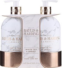 Parfüm, Parfüméria, kozmetikum Szett - Baylis & Harding White Tea & Neroli Hand Care Set (soap/500ml + h/b/lotion/500ml)