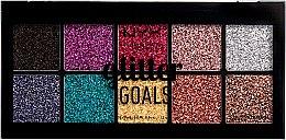 Parfüm, Parfüméria, kozmetikum Multifunkciós, krémes glitter paletta - NYX Professional Glitter Goals