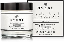 Parfüm, Parfüméria, kozmetikum Regeneráló és hidratáló krém - Avant Rose & Squalane Revitalising DUO Moisturiser