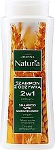 Parfüm, Parfüméria, kozmetikum Sampon és kondicionáló zabbal száraz és festett hajra - Joanna Naturia Shampoo With Conditioner With Wheat