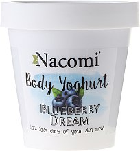 "Parfüm, Parfüméria, kozmetikum Testápoló joghurt ""Áfonya"" - Nacomi Body Yogurt Blueberry Dream"