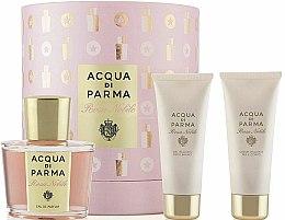 Parfüm, Parfüméria, kozmetikum Acqua di Parma Rosa Nobile Set - Szett (edp/100ml + sh/g/75ml + b/cr/75ml)