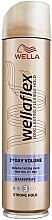 Parfüm, Parfüméria, kozmetikum Dúsító hajlakk erős fixálással - Wella Wellaflex Volume
