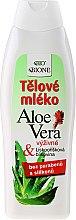 Parfüm, Parfüméria, kozmetikum Hidratáló testápoló - Bione Cosmetics Aloe Vera Nourishing Body Lotion With Collagen