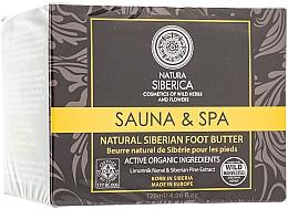 """Parfüm, Parfüméria, kozmetikum Természetes sűrű szibériai lábvaj """"Sauna & Spa"""" - Natura Siberica"""