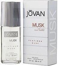 Parfüm, Parfüméria, kozmetikum Jovan Platinum Musk For Men - Kölni