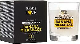 """Parfüm, Parfüméria, kozmetikum Természetes gyertya masszázshoz """"Banán"""" - Sezmar Collection"""