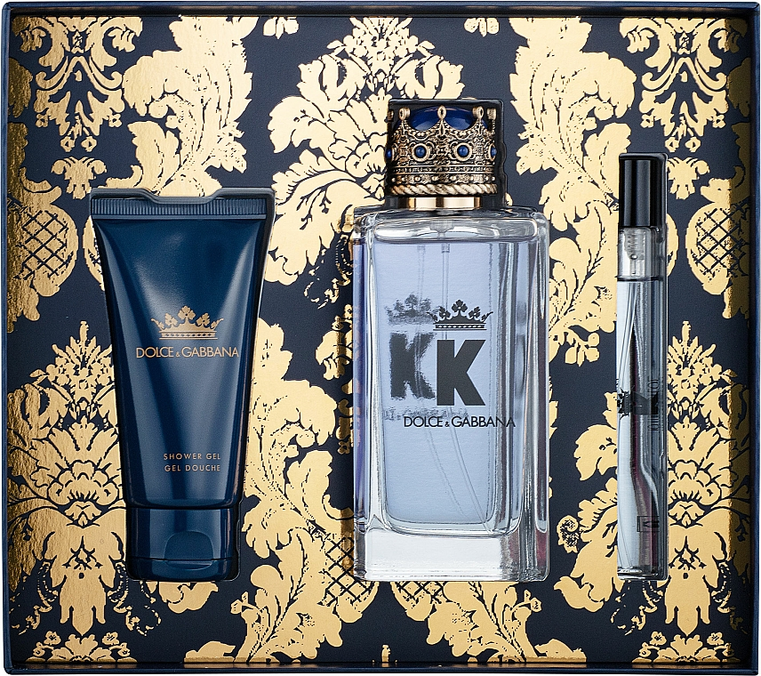 Dolce&Gabbana K by Dolce&Gabbana - Szett (edt/100ml + sh/gel/50ml + edt/mini/10ml)