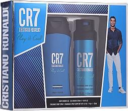 Parfüm, Parfüméria, kozmetikum Cristiano Ronaldo CR7 Play It Cool - Szett (sh/gel/200ml + deo/spray/150ml)