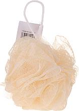 Parfüm, Parfüméria, kozmetikum Fürdőszivacs, sárga - IDC Institute Design Mesh Pouf Bath Sponges