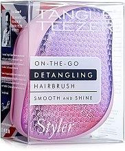 Parfüm, Parfüméria, kozmetikum Kompakt hajkefe - Tangle Teezer Compact Styler Sunset Pink