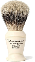Parfüm, Parfüméria, kozmetikum Borotvapamacs, S375 - Taylor of Old Bond Street Shaving Brush Super Badger size M