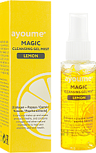 Parfüm, Parfüméria, kozmetikum Tisztító spray-gél citrommal - Ayoume Magic Cleansing Gel Mist Lemon