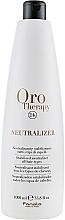Parfüm, Parfüméria, kozmetikum Dauer semlegesítő és stabilizátor - Fanola Oro Therapy Neutralizer