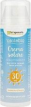 Parfüm, Parfüméria, kozmetikum Napvédő krém SPF 30 - La Saponaria Sun Cream SPF 30