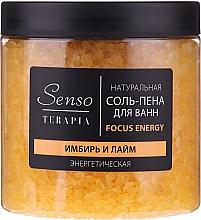 """Parfüm, Parfüméria, kozmetikum Természetes fürdősó-hab """"Gyömbér és lime"""" - Senso Terapia Focus Energy"""