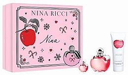 Parfüm, Parfüméria, kozmetikum Nina Ricci Nina - Szett (edt/50ml + b/lot/75ml + edt/4ml)
