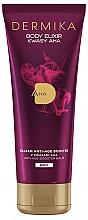 Parfüm, Parfüméria, kozmetikum Balzsam testre, anti-age - Dermika Body Elixir AHA Anti-age Booster Balm