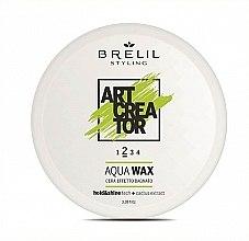 Parfüm, Parfüméria, kozmetikum Víz alapú hajwax - Brelil Art Creator Aqua Wax