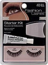 Parfüm, Parfüméria, kozmetikum Készlet - Ardell Fashion Lashes Starter Kit Demi Black 101