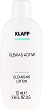 Parfüm, Parfüméria, kozmetikum Tisztító emulzió - Klapp Clean & Active Cleansing Lotion