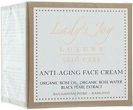 Parfüm, Parfüméria, kozmetikum Ránctalanító arckrém - Bulgarian Rose Lady's Joy Luxury Anti-Aging Face Cream