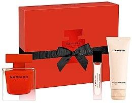 Parfüm, Parfüméria, kozmetikum Narciso Rodriguez Narciso Rouge - Szett (edp/90ml + b/lot/75ml + edp/10ml)