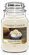 Parfüm, Parfüméria, kozmetikum Gyertya üvegben - Yankee Candle Coconut Rice Cream Votive Candle