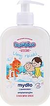 Parfüm, Parfüméria, kozmetikum Antibakteriális kézszappan panetnollal és gyümölcs illattal - Bambino Family Antibacterial Soap