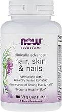 Parfüm, Parfüméria, kozmetikum Bőr, haj és körömápoló vitamin - Now Foods Solutions Hair, Skin & Nails